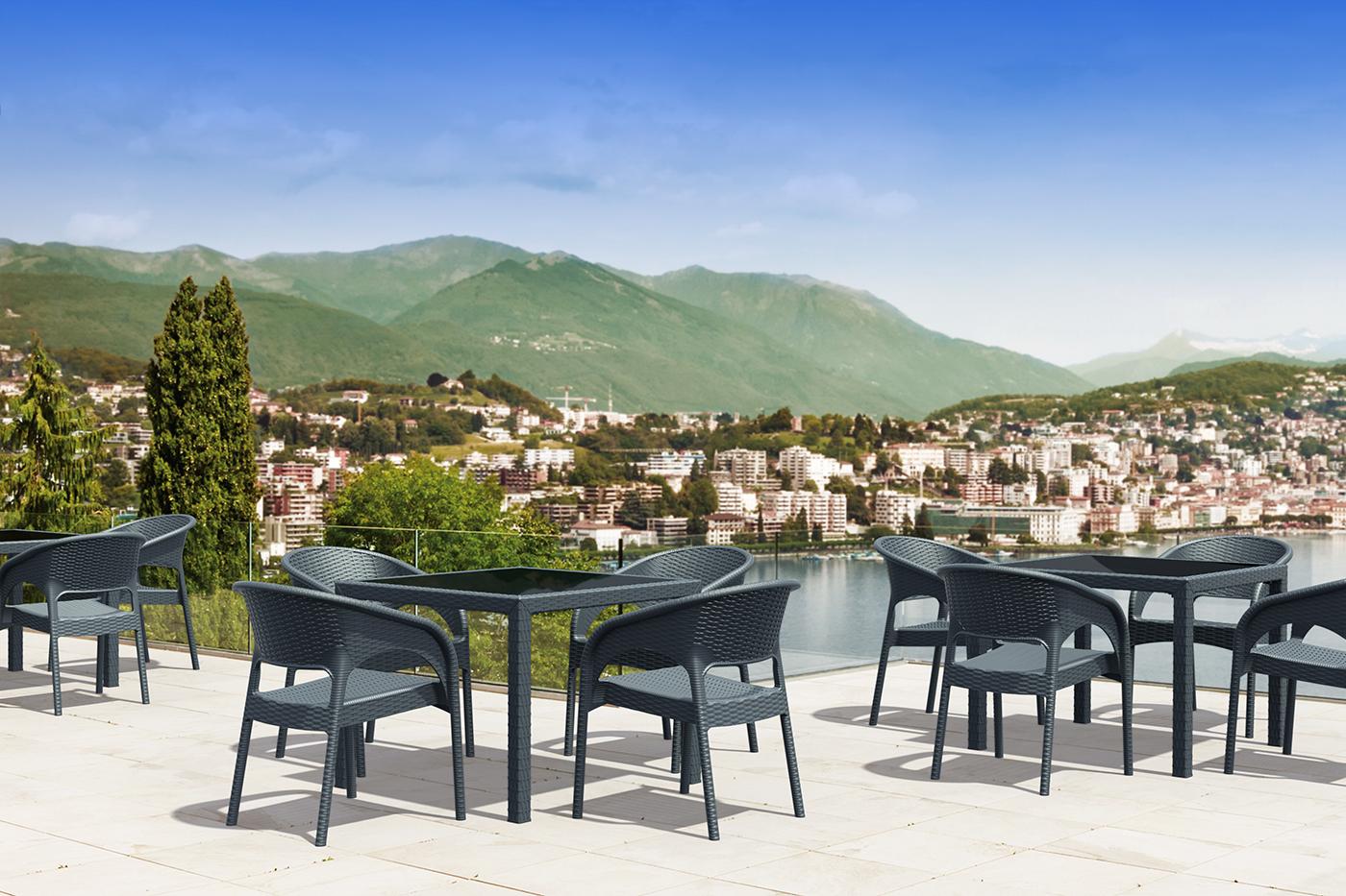 Chaise terrasse de restaurant Annemasse