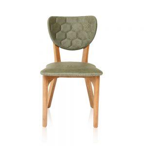 chaise boo vert