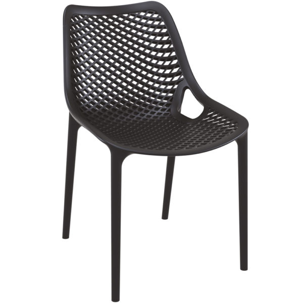 chaise air empilable