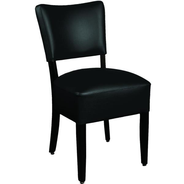 chaise lisa noir