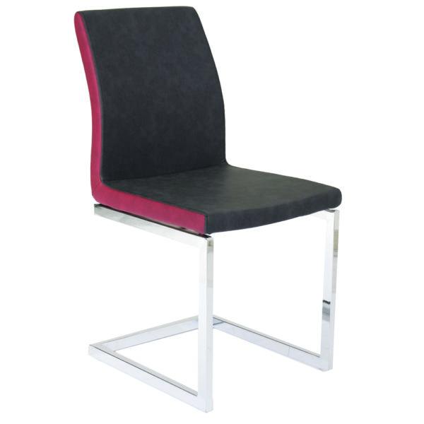 Chaise métal