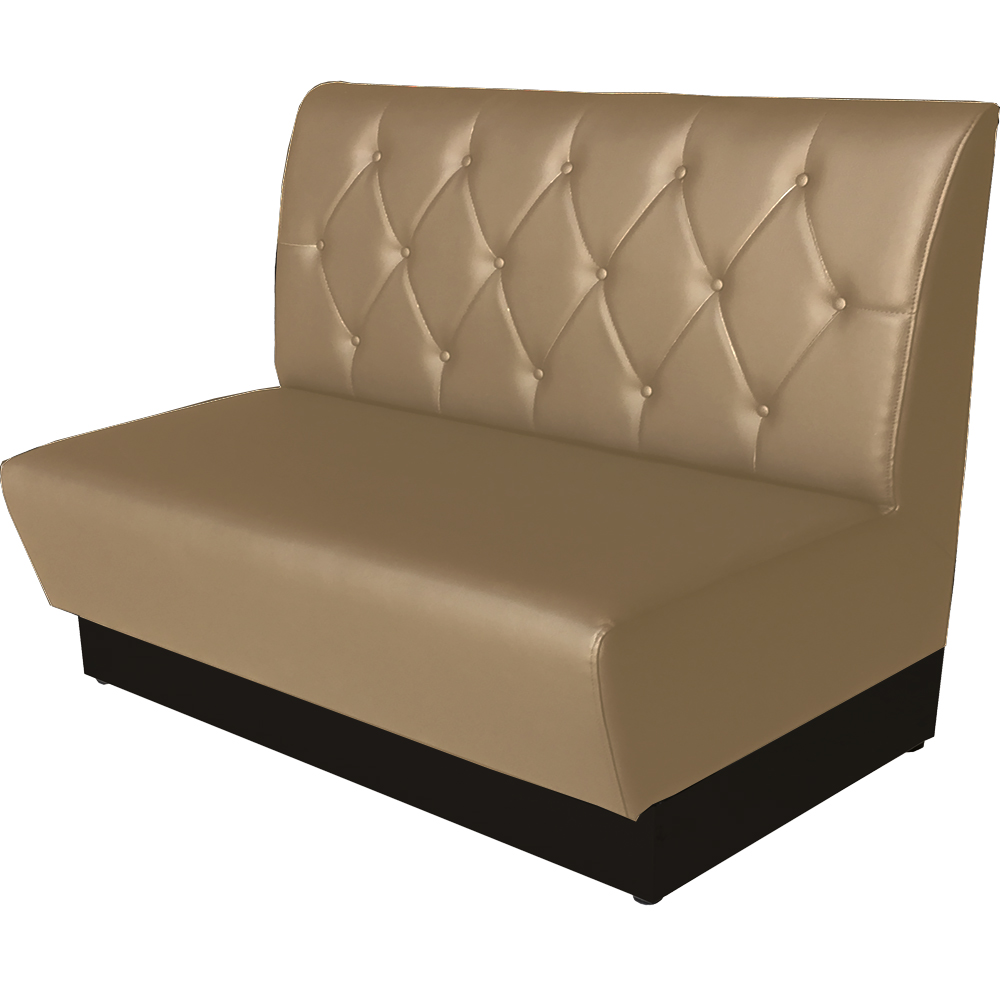 Banquette TEX Bois - Taupe – Coffee Meuble