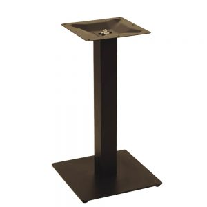 pied de table flat bas