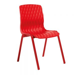 chaise royal rouge