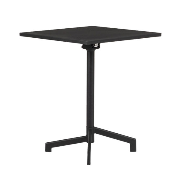 table métal carrée