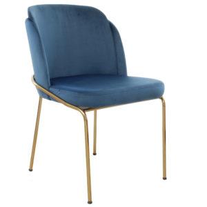 fauteuil doré