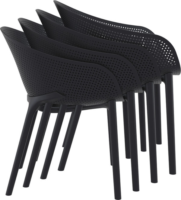 fauteuil empilable